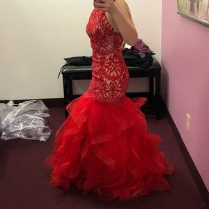 Gorgeous Red Prom Dress